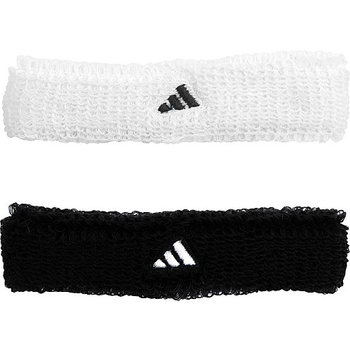 adidas Half-Time Wristbands - Collegiate Navy/White One Size