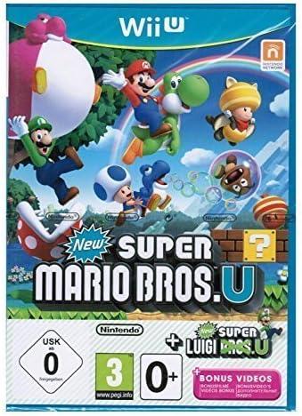 SUPER MARIO BROS.U + NEW SUPER LUIGI.U by Nintendo: Amazon.es: Videojuegos