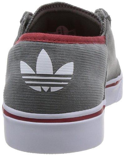 adidas Originals Beskets Culver Low Contemporary Pour Homme, Gris Blanc, Textile, Lacets