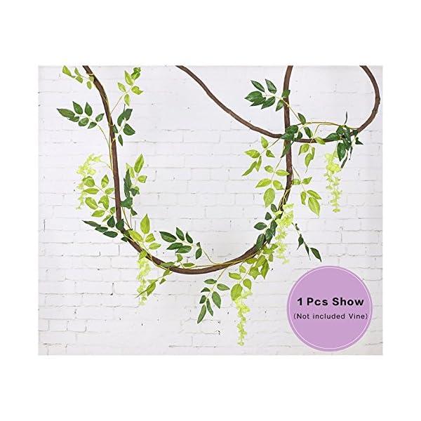 Artificial-Flowers-3-Pcs-66ft-Wisteria-Garland-Ivy-Vine-Silk-Hanging-Plants-for-Wedding-Arrangements-Outdoors-Decorations-Home-Garden-Party-Decor-Simulation-Flower