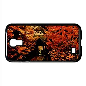 Autumn Morning Watercolor style Cover Samsung Galaxy S4 I9500 Case (Autumn Watercolor style Cover Samsung Galaxy S4 I9500 Case) by icecream design