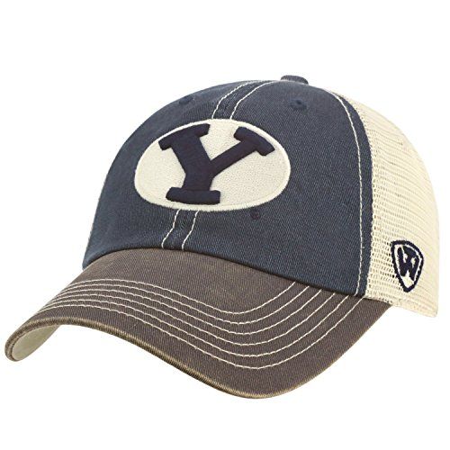 BYU Cougars Top of the World Offroad Trucker Hat