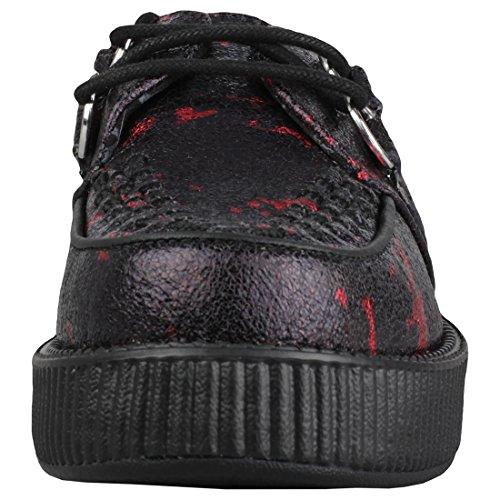 Paint Chaussures Splatter U K T Low Metallic Femmes fzqgwSx7