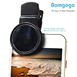 Bomgogo 37mm ND8 Filter Lens, Professional Cell Phone Camera Neutral Density 8 Lens Kit for iPhone, Samsung, and Android Smartphones use