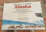 img - for Map of Alaska: The Making of America Produced By the Cartographic Division (Map From the Magazine National Geographic) January 1984 book / textbook / text book