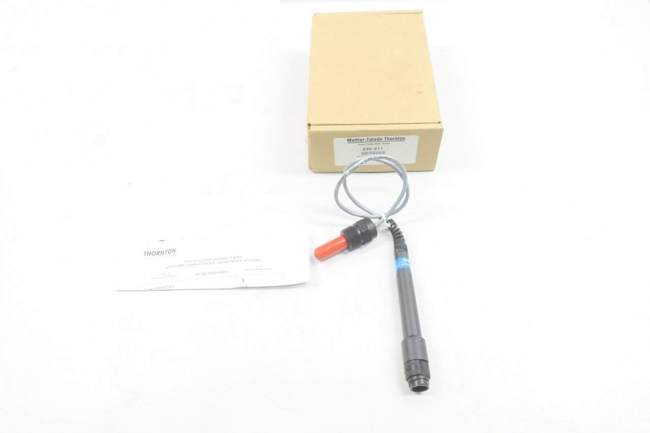 METTLER TOLEDO 230-211 THORNTON SMART CONDUCTIVITY SENSOR D582837: Amazon.com: Industrial & Scientific