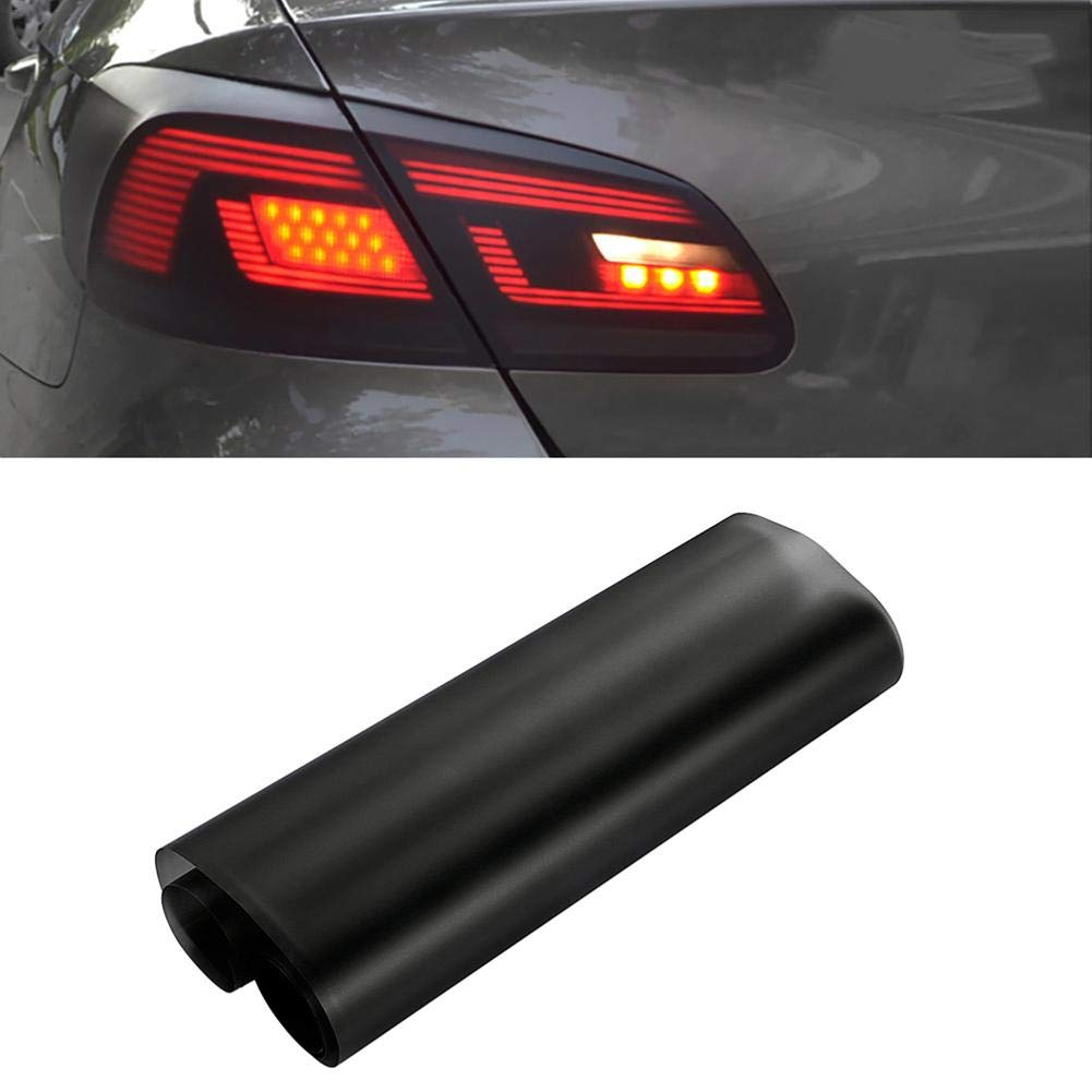 Fog Lights Tint Vinyl Film waterfail 30150cm Matte Black Car Headlights Tail Lights Self Adhesive Waterproof Air-Release Easy Removable