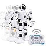 DIYurfeeling Remote Control Robots for Kids Infrared Control Toys Robot Programmable Interactive Walking Singing Dancing for Kids Boy Girl