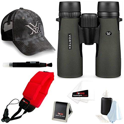 Vortex Diamondback 8x42 Binocular + Foam Float Strap + Ac...