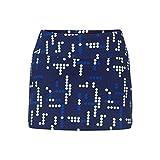Tail Bright Lights Back Pleat Skirt (Small)