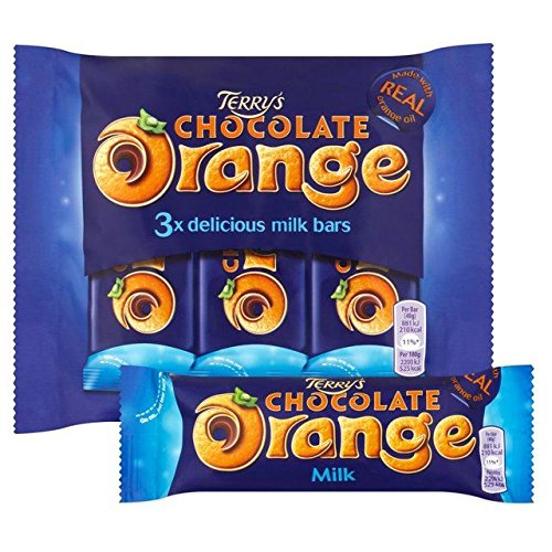 Terry's Chocolate Orange Bars 3 x