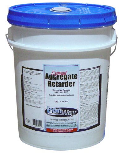 Bon  32-302 Exposed Aggregate Retarder - Low VOC, 5-Gallon Container