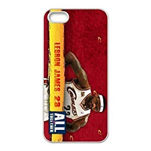 Generic Cell Phone Cases For Apple Iphone 5 5S Cell Phone Design With 2015 NBA #23 Lebron James niy-hc813070 Kimberly Kurzendoerfer