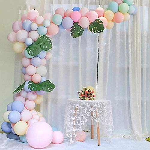 Balloon Garland Arch Kit 142 Pcs Latex Balloons Pack for Baby Shower Weeding Birthday Bachelorette Party Backdrop Background Decorations -