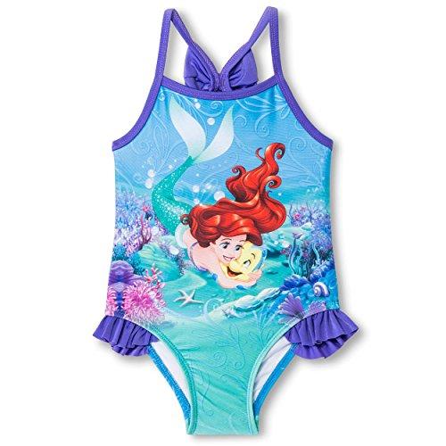 The Little Mermaid Ariel Girls Swimwear Swimsuit (Toddler/Little Kid)
