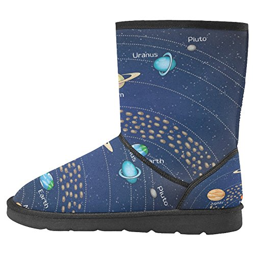 Multi Snow Womens Boots Unique Boots Winter 31 InterestPrint Designed Comfort g86qcPw
