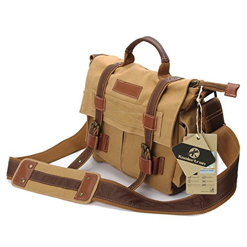 Koolertron DSLR Camera Canvas Shoulder Bag