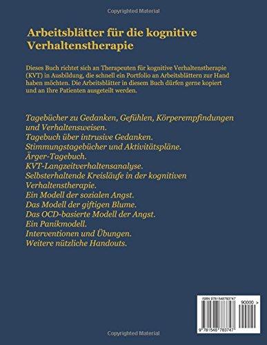 ARBEITSBLÄTTER FÜR die KOGNITIVE VERHALTENSTHERAPIE: ARBEITSBLÄTTER ...