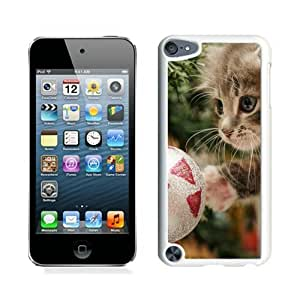 linJUN FENGHot Sell Christmas Cat White iPod Touch 5 Case 39