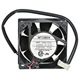 Mitsubishi Electric and Electronics USA MMF-06D12DL 12V DC 60mm Brushless Tubeaxial Fan
