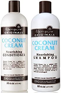 product image for Renpure Coconut Cream Nourishing Shampoo & Conditioner Set, 16 Fluid Ounce Ea by Renpure