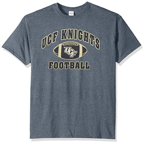 (Elite Fan Shop NCAA Men's Central Florida Golden Knights Football T-shirt Dark Heather Central Florida Golden Knights Dark Heather Medium)