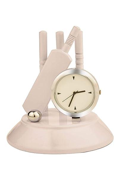 Tiamo Metal Cricket Set Table Clock