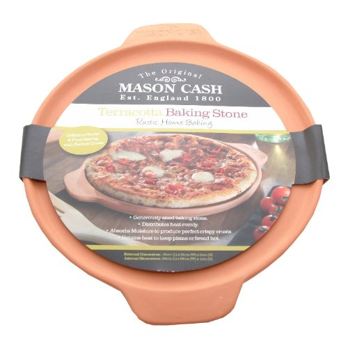 Mason Cash Traditional Large Terracotta Bread / Pizza Baking Stone - Oven To Tableware