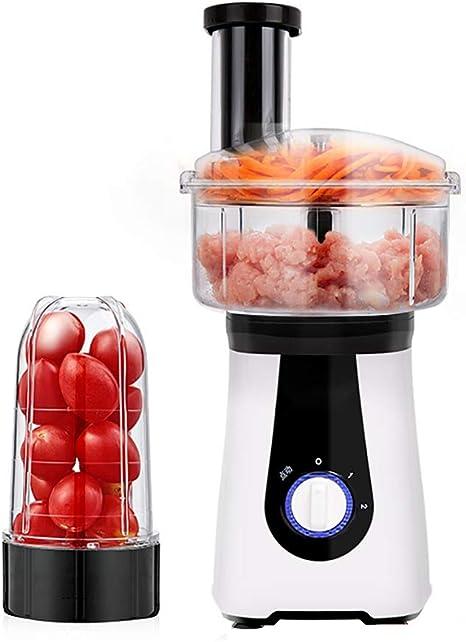 A Pequeño procesador de Alimentos eléctrico Cocina licuadora trituradora trituradora rallador rallador exprimidor para Carne, Verduras, Frutas: Amazon.es