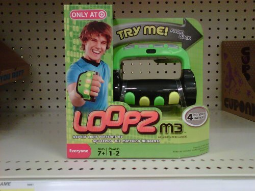 UPC 746775052249, Loopz M3 Handheld Music Memory Game - Exclusive Green Edition