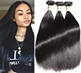 Cheap Connie Hair Brazilian Straight Hair 3 Bundles 14 16 18Inch Grade 7A Unprocessed Brazilian Straight Weave Bundles Natural Color