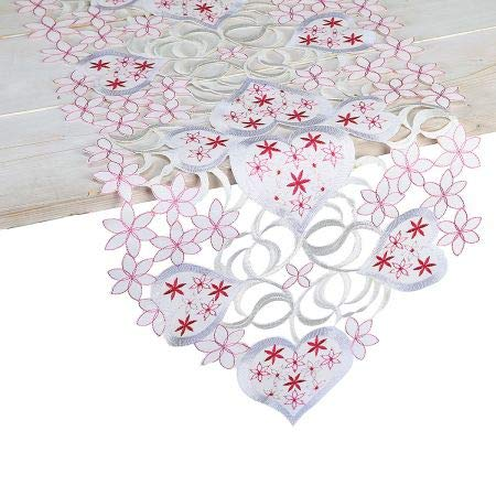 Current Hearts Valentine Table Runner - 13