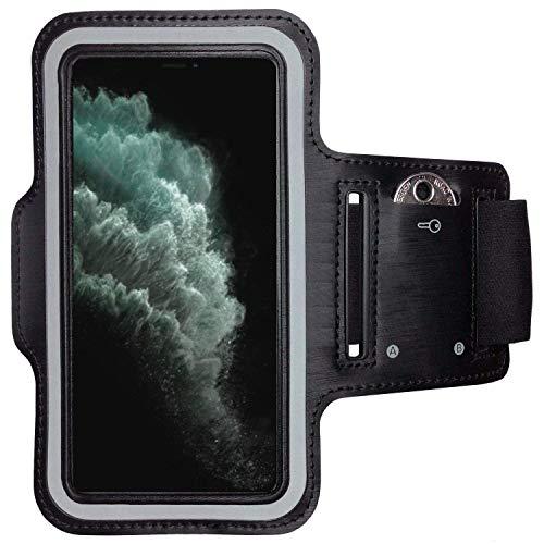 CoverKingz Armtas voor Apple iPhone 12 [6,1 inch] Sportarmband met sleutelvak, looparmband fitness, mobiele telefoon…
