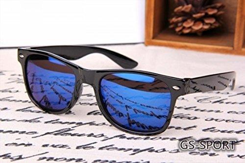 Retro antireflectantes Gafas LK y Sol Clásico Mujer 8871 para Hombre Color Marco Azul 1 de Unidad pPPvx1