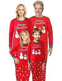 Christmas Santa Claus Pajamas Family Matching Sleepwear Cotton Kids PJS Pants Set