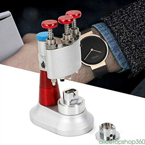 Professional Watch Hands Fitter Repair Tool ThreeHead Needle Machine Durable Chrome Vanadium Steel Watch Hands Fitting Tool Setting Machine