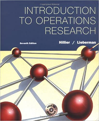 Introduction to operations research frederick s hillier gerald j introduction to operations research 7th edition fandeluxe Image collections