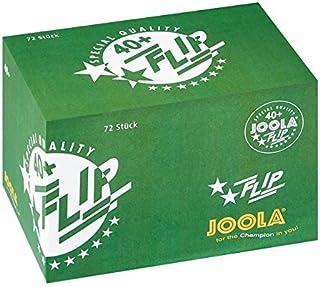 JOOLA FLIP White 40+ 72 Bälle, weiß, One Size