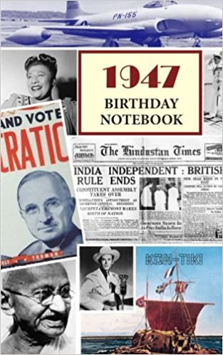 1947 birthday notebook a great alternative to a birthday card 1947 birthday notebook a great alternative to a birthday card montpelier publishing 9781541215795 amazon books bookmarktalkfo Choice Image