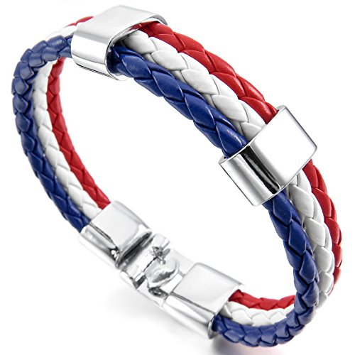 INBLUE Leather Bracelet Germany Italian