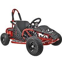 Go-Bowen Baja 1000W 48V Electric Kids Go-Kart - Red