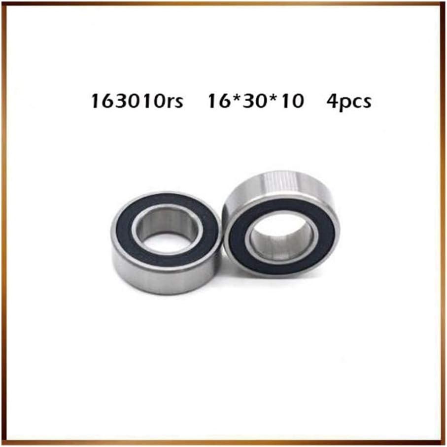 10mm LQW HOME Ball Bearings 4 PCS Non-standard Ball Bearings Inner Diameter 16mm Outer Diameter 30mm Thickness 10mm Bearing 16 30