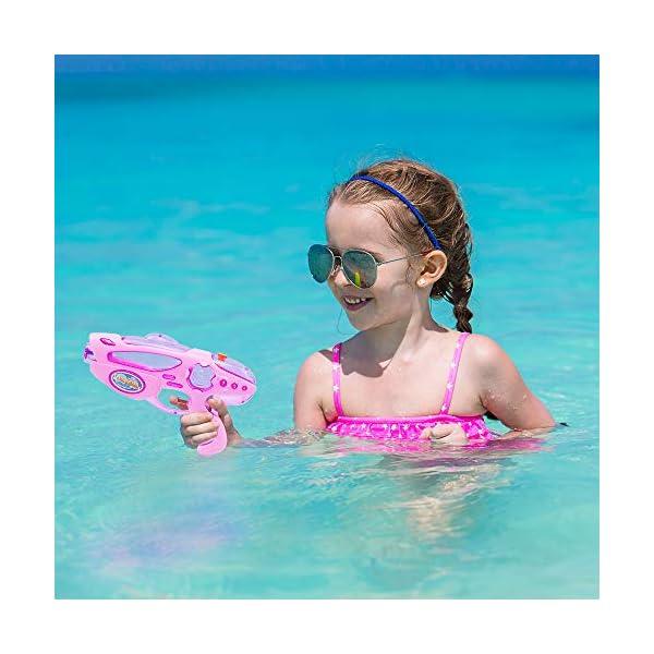Pistole ad Acqua Giocattolo Pistola per Bambini e Adulti Estivi All'aperto per Divertimento, Summer Giocattoli Pistole… 4 spesavip