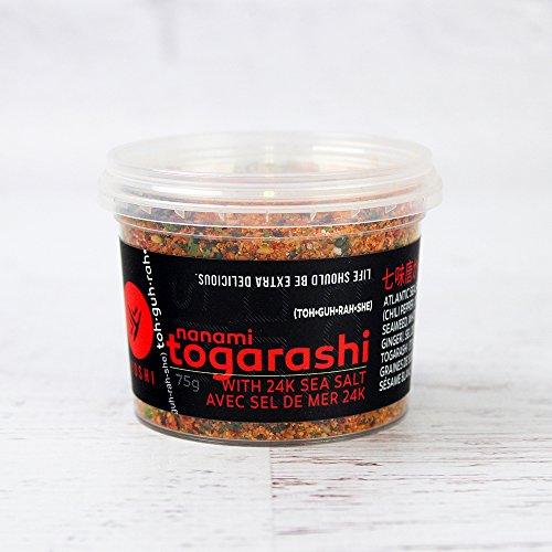Yoshi Nanami Togarashi Dry Chili with Sea Salt - 2.6 oz (75 g)