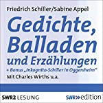 Gedichte, Balladen und Erzählungen | Friedrich Schiller,Sabine Appel