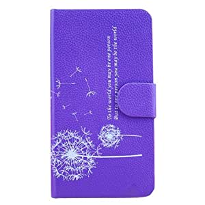 Dandelion Leather Cover Case Stand for Samsung Galaxy S4 4 IV I9500