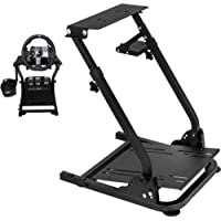 Game Wheel Stand for G27 G25 G29 G920 Wheels Stainless Steel Racing Wheel stand without Wheel and Pedals,ps4.xbox,ps3.