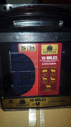 Amazon Com American Farm Works 10 Mile Solar Fence