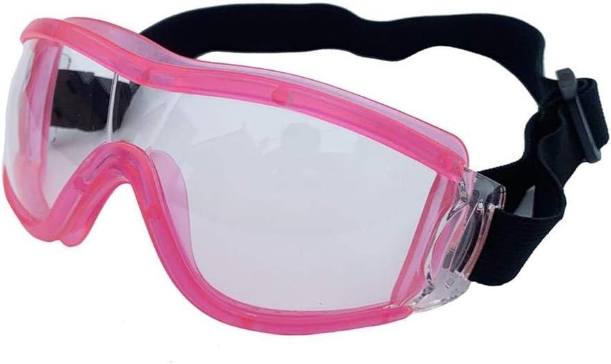 Niños 6-12 años antipolvo viento antipartículas gafas protectoras totalmente cerradas, gafas para niños de grado médico