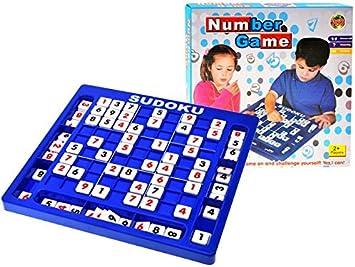 BSD Juego de Lógica - Juego de Mesa - Sudoku Juego de Números: Amazon.es: Juguetes y juegos